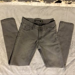 Other - Skinny grey / gray stretch denim pants